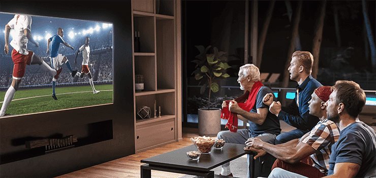 Best TV for Watching Sport | The Good Guys
