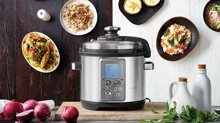 Breville Cookers. Shop now at The Good Guys.