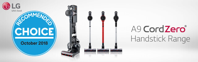 LG CordZero Handstick Vacuums | The Good Guys