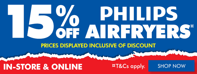 5% off Philips Airfryers | The Good Guys