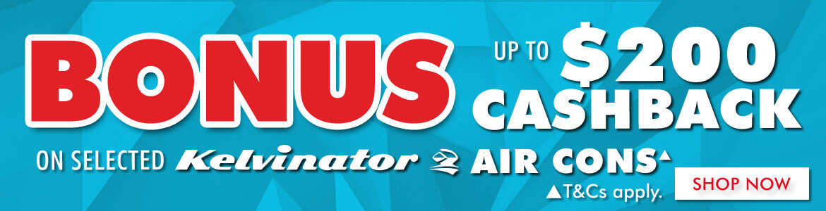 Kelvinator Air Conditioners Cash Back   The Good Guys