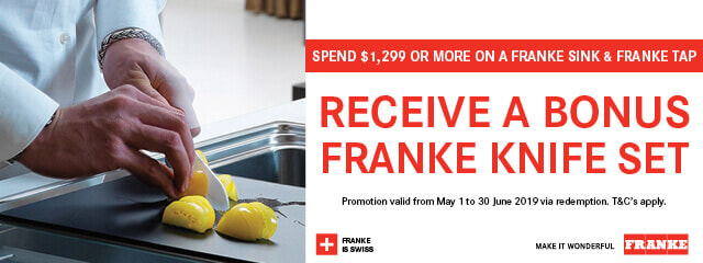 Bonus Franke Knife Set | The Good Guys