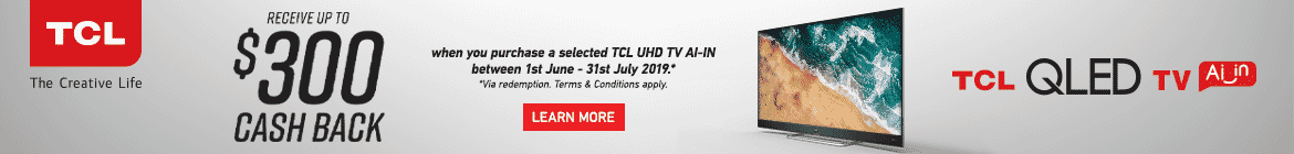 TCL Cashback Promotion | The Good Guys