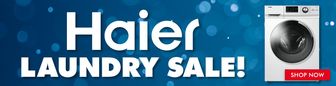 Haier Laundry Sale