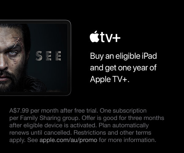 Get One Year of Apple TV+ | The Good Guys