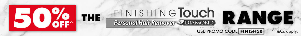 50% off The Finishing Touch Personal Hair Remover | The Good Guys
