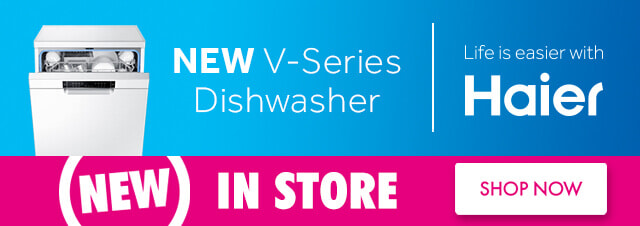 Haier V-Series Dishwasher | The Good Guys