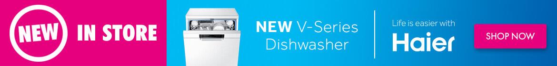 Haier V-Series Dishwasher   The Good Guys