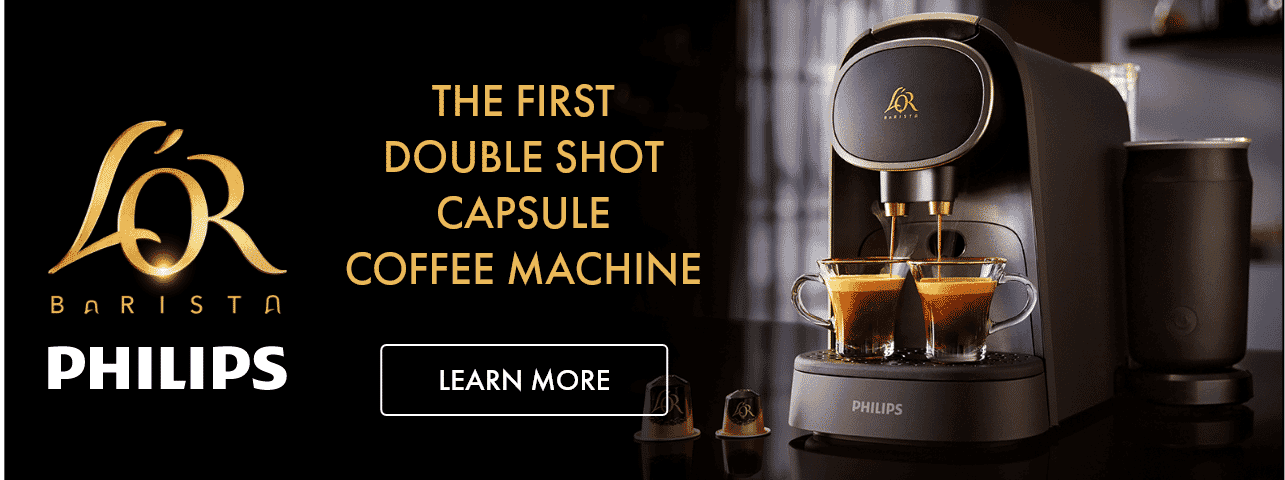 Philips L'Or Capsule Coffee Machine | The Good Guys