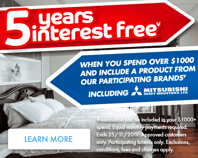 5 Years Interest Free | The Good Guys