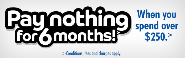 6 Months interest free | The Good Guys