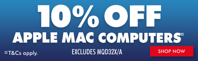10% Off Apple Mac Computers (Excludes MQD32X/A)| The Good Guys