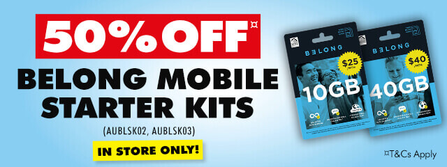 Belong Mobile Starer Kits   The Good Guys