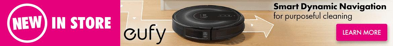 Eufy Robot Vacuum Range | The Good Guys