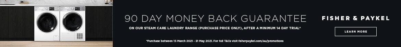 Bonus 90 Day F&P Money Back  | The Good Guys