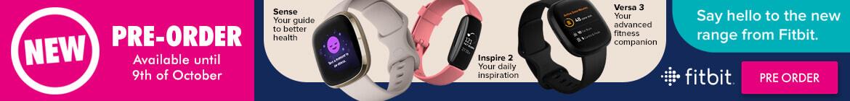 Fitbit Watch Range | The Good Guys