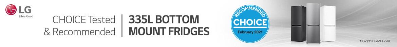 LG Choice Tested Bottom Mount Fridges | The Good Guys
