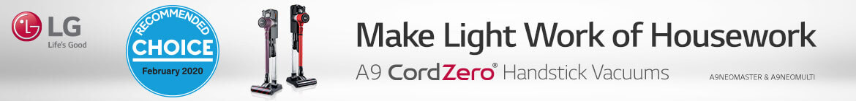 LG CordZero A9 | The Good Guys
