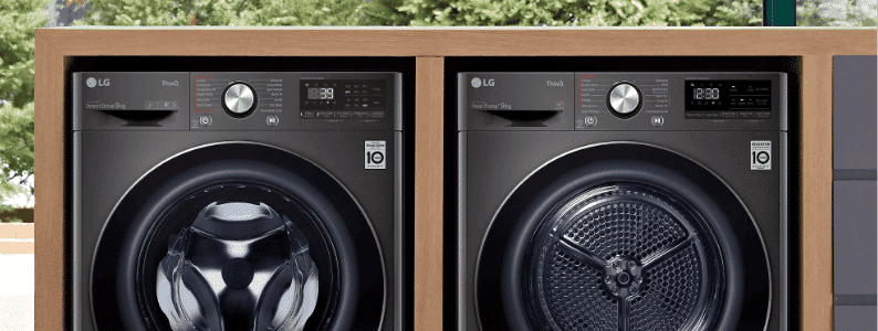 LG Front Load Washing Machines | The Good Guys