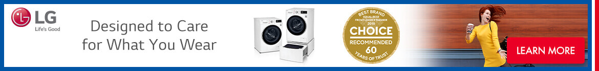 LG Laundry | The Good Guys