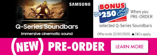 Samsung Q Symphony Series Soundbars | The Good Guys