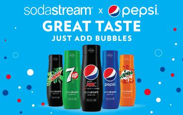 Sodastream Flavour Mixes | The Good Guys