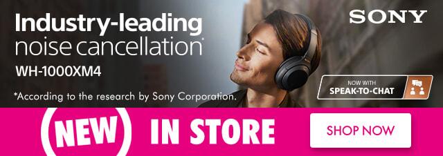 Sony Noise Cancelling Headphones   The Good Guys