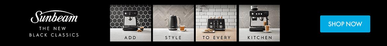 Shop Sunbeam Black Classics Appliances  | The Good Guys
