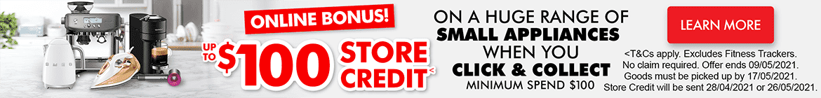 $100 Store Credit | The Good Guys