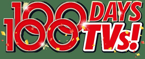 100 Days 100 TVs! | The Good Guys