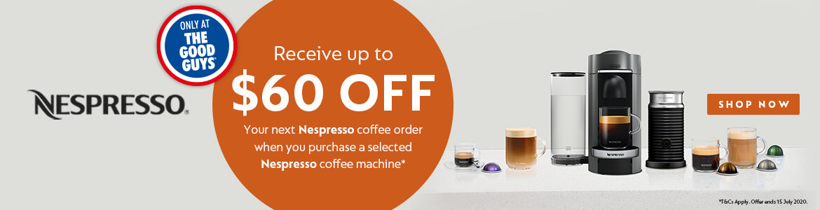 Nespresso Bonus   The Godd Guys