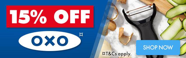 15% off OXO Sale | The Good Guys