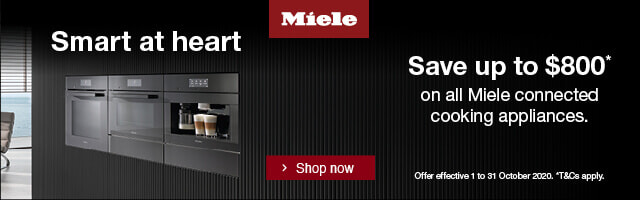 Save up to $800 on all Miele connected Cooking appliances | The Good Guys