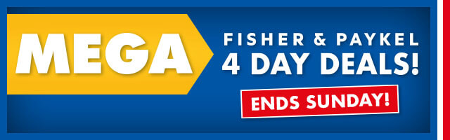 isher & Paykel Mega 4 Day Deals | The Good Guys