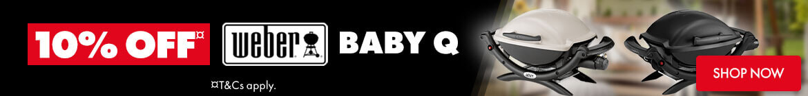 10% off Weber Baby Q BBQ | The Good Guys