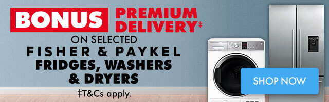 Bonus Premium Delivery on selected Samsung Fridges, Washers and Dryers | The Good Guys