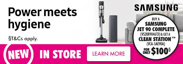 Samsung Jet Stick Series Vacuums | The Good Guys