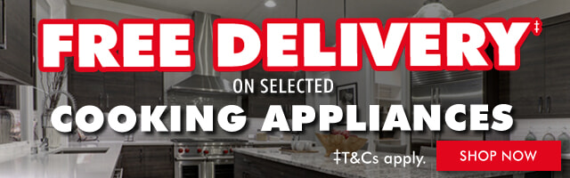 Free Delivery on Cooking Appliances | The Good Guys
