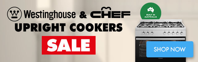 Westinghouse & Chef Upright Cookers Sale | The Good Guys