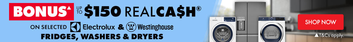 Shop Westinghouse & Electrolux | The Good Guys