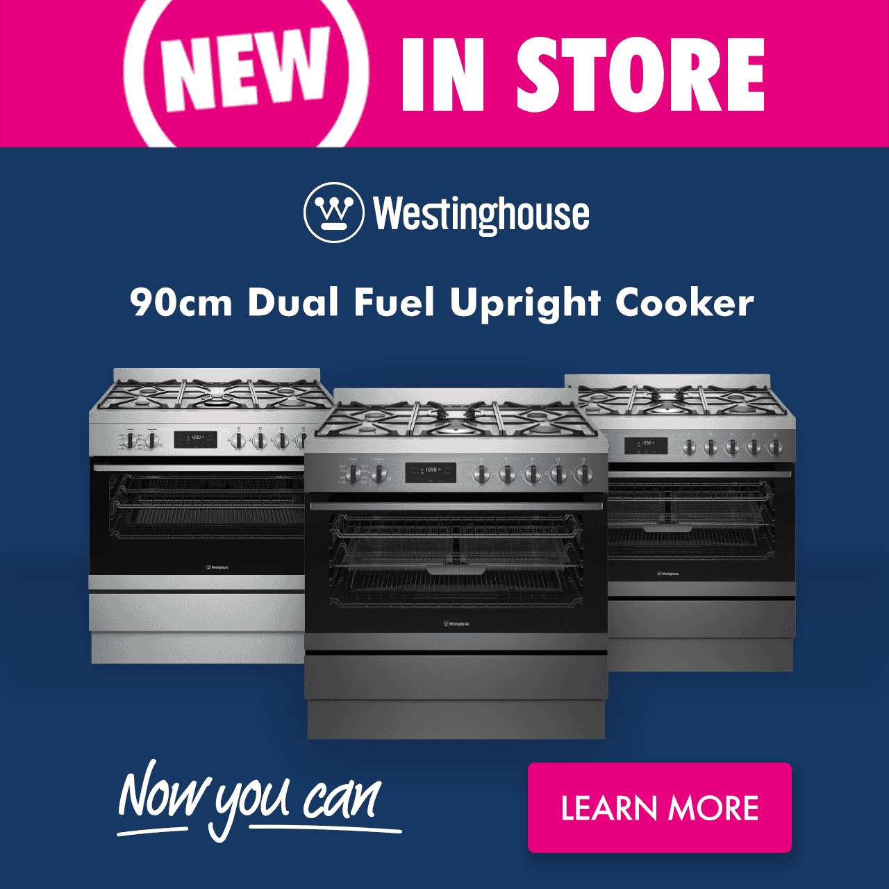 Westinghouse Cooking Range