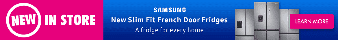 Samsung Slim Fit French Door Fridges | The Good Guys
