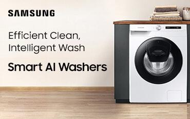 Samsung Smart AI Washers | The Good Guys