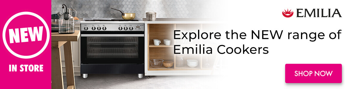 New Ranges Emilia Cookers   The Good Guys