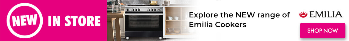 New Ranges Emilia Cookers | The Good Guys