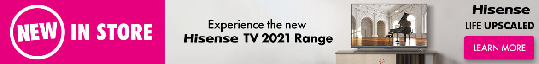 Hisense TV 2021 Range | The Good Guys