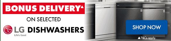 LG Dishwashers | The Good Guys