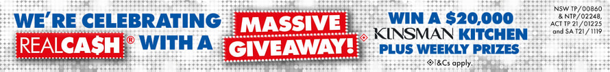 Realcash Giveaway | The Good Guys