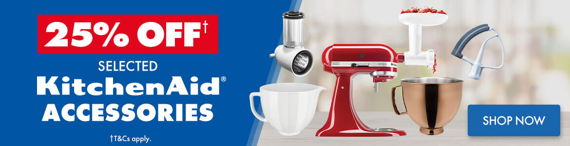 25% off Selected KitchenAid Accessories | The Good Guys