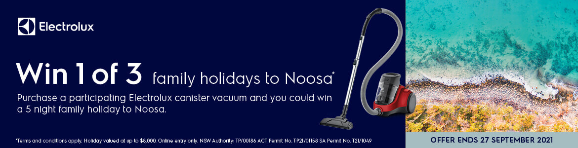 Win 1 of 3 family holidays to Noosa  The Good Guys